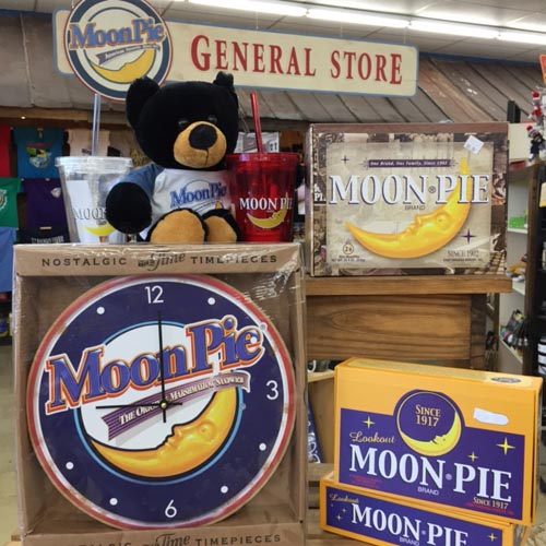 Moon Pie Clocks, Stuffed Bears and Much More!